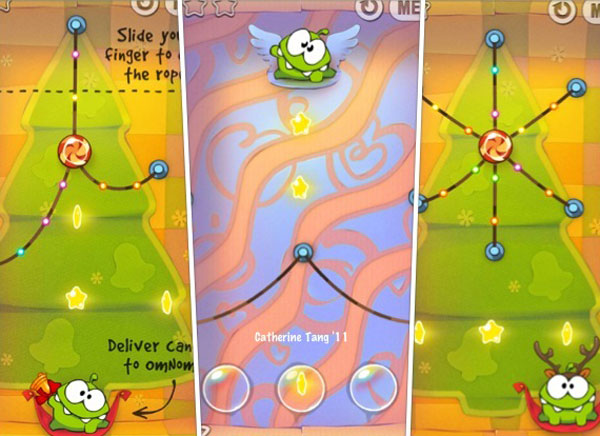 Cut the Rope Holiday Gift gratis iphone