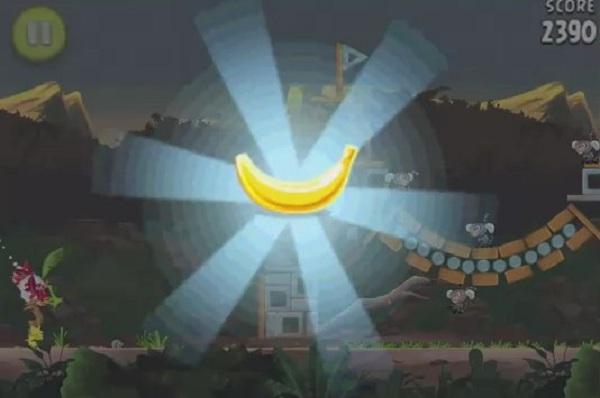 angry birds banana