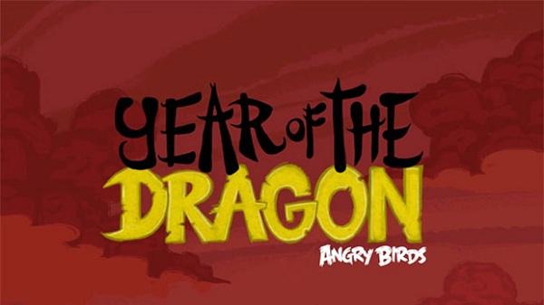 Angry Birds se prepara para celebrar el año nuevo chino