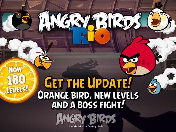 Angry Birds Rio, descarga gratis su última actualización
