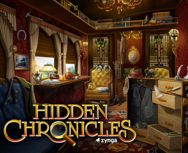 Hidden Chronicles, el juego de búsqueda de objetos de Zynga