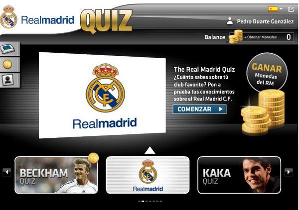 Real Madrid Quiz, nuevo juego oficial de preguntas sobre el Real Madrid en Facebook