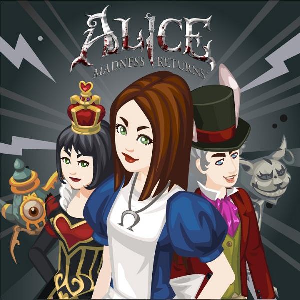 Los Sims Social, actualización de contenido de Alice Madness Returns