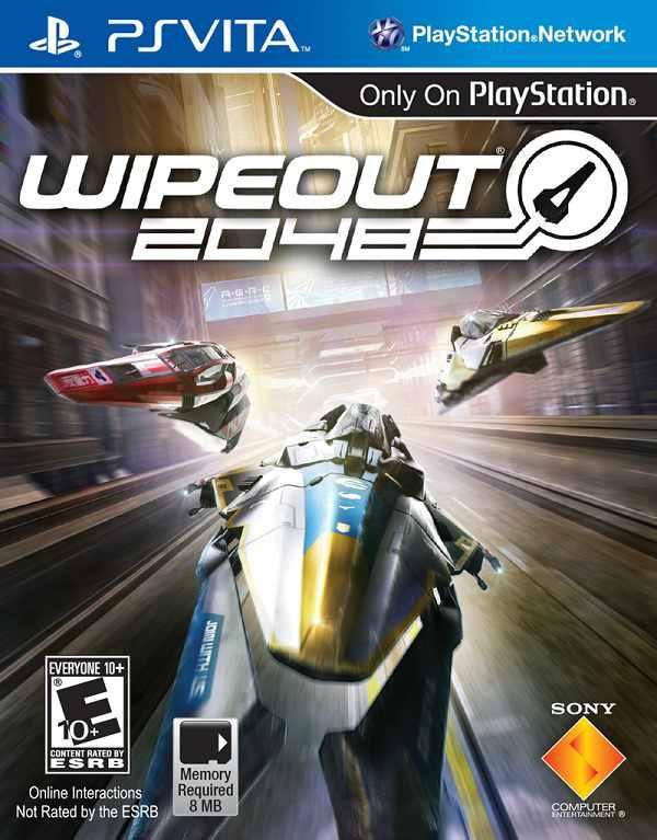 WipEout 2048, las carreras más futuristas llegan a PS Vita