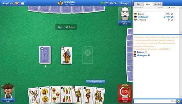 Chinchón, el mítico juego de cartas llega a Facebook
