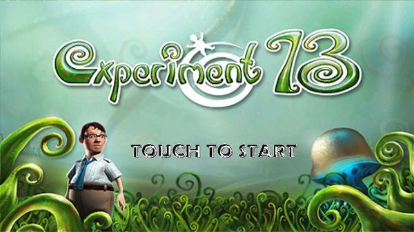 Experiment 13, descarga gratis lo último para el Xperia Play