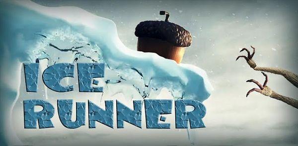 Ice Runner, Scrat de la película Ice Age en un juego para Android