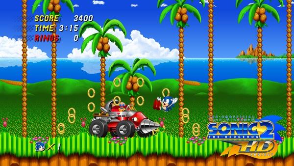Sonic 2 HD 01