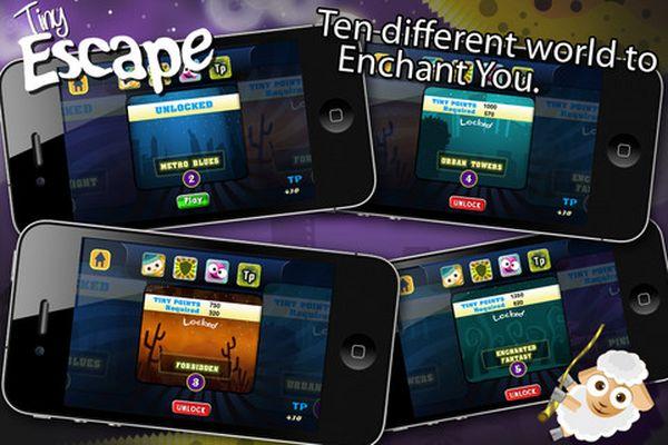 Tiny Escape, descarga gratis este juego de habilidad para iPhone