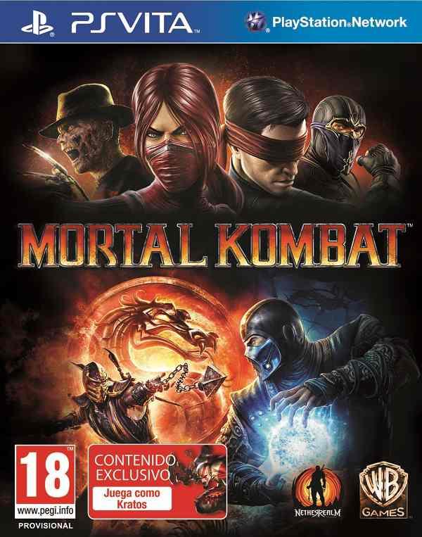 Mortal Kombat para PS Vita, lanzamiento oficial el cuatro de mayo