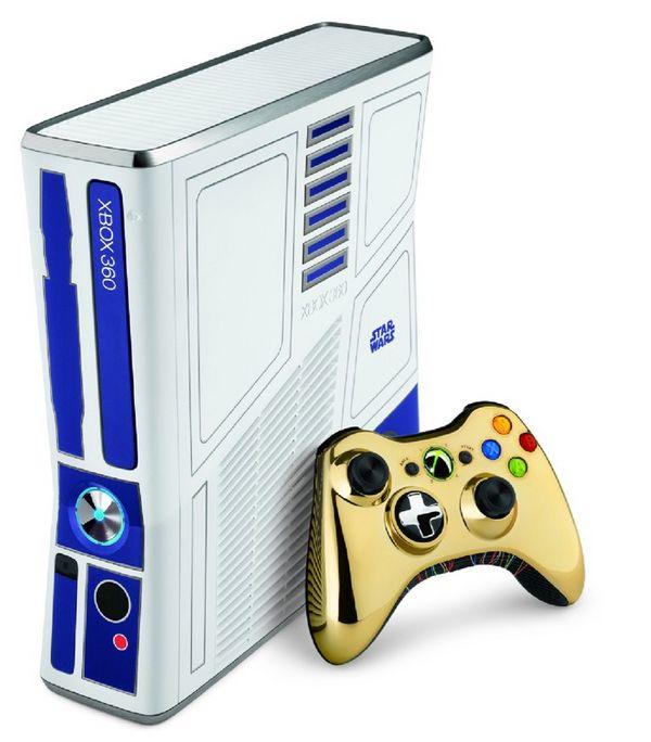 Xbox 360 se transforma en el robot R2-D2 de Star Wars